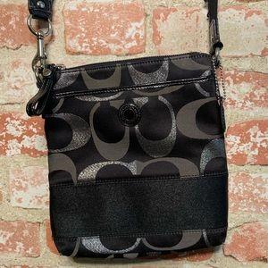 Coach crossbody messenger bag